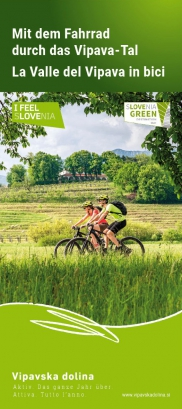Bicycle Routes through the Vipava Valley, de-it