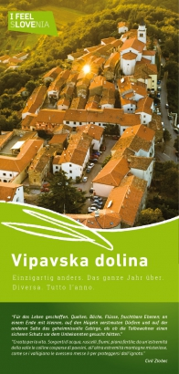 Splošni zemljevid Vipavska dolina, de-it