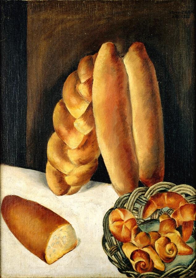Југословенска уметност - Jugoslavenska umjetnost Veno-pilon-kruh-1922-olje-na-platnu