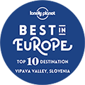 Lonely Planet, Vipava Valley Best in Europe